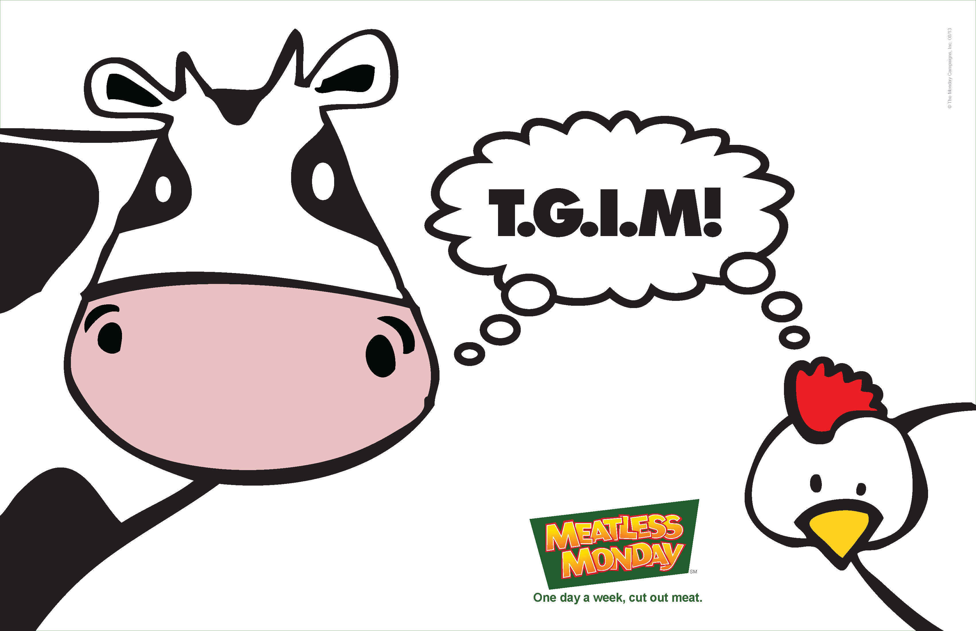 MeatlessMonday TGIM 週一無肉日