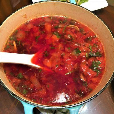 甜菜根蔬菜湯