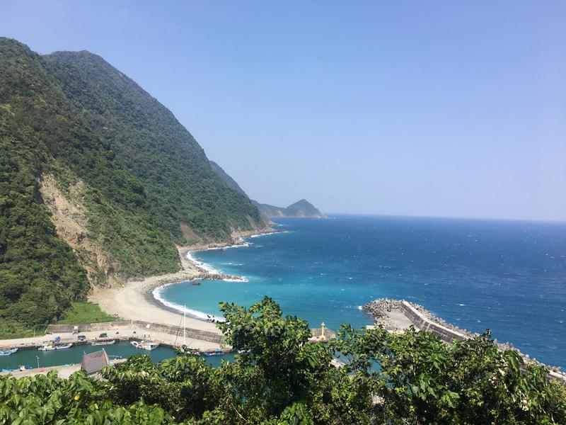 朝陽步道_第1觀景台_朝陽漁港