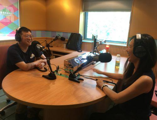 第一次進錄音室!我在國立教育廣播電台 創青宅急便