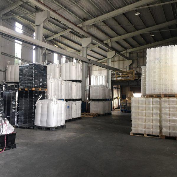 芒菓丹的回收廠 非常整齊乾淨