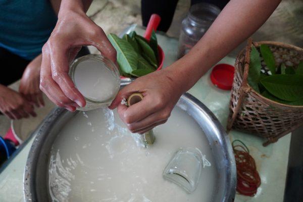 體驗手作竹筒飯