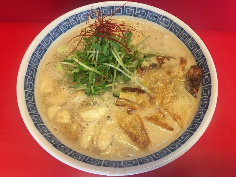 vegan 胡麻味增拉麵