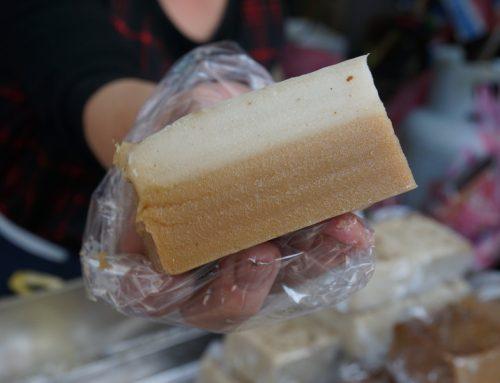 宜蘭|南館市場裡的米食小吃 九層炊就是要有甜有鹹呀!
