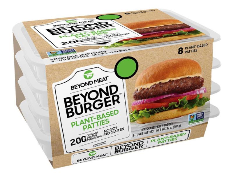 Costco好市多_無棕櫚油_Beyond Meat 冷凍蔬食漢堡排