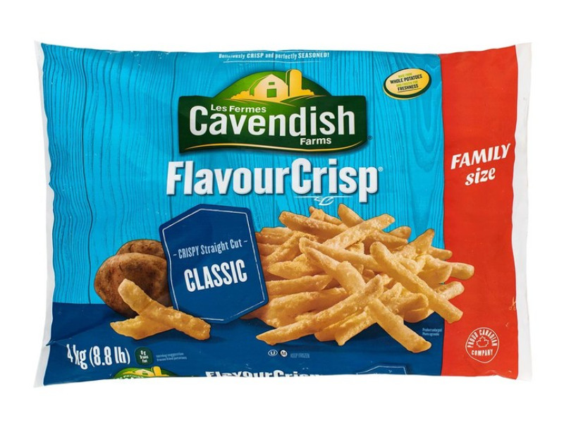 Costco好市多_無棕櫚油_Cavendish Farms 冷凍馬鈴薯條