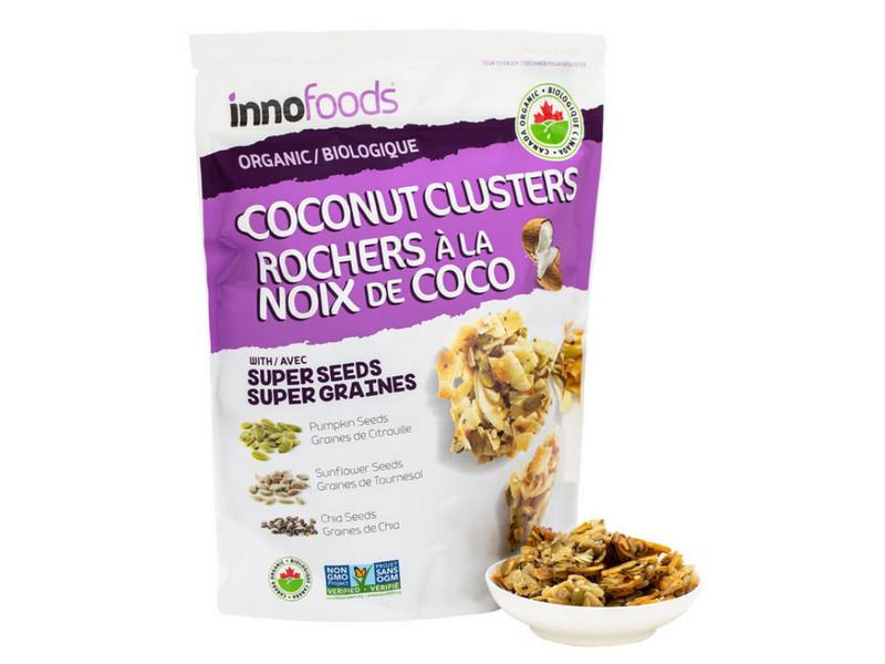 Costco好市多_無油_Inno Specialty Foods 有機南瓜奇亞籽椰子脆塊