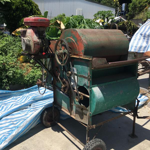 自然農法黑豆脫殼機