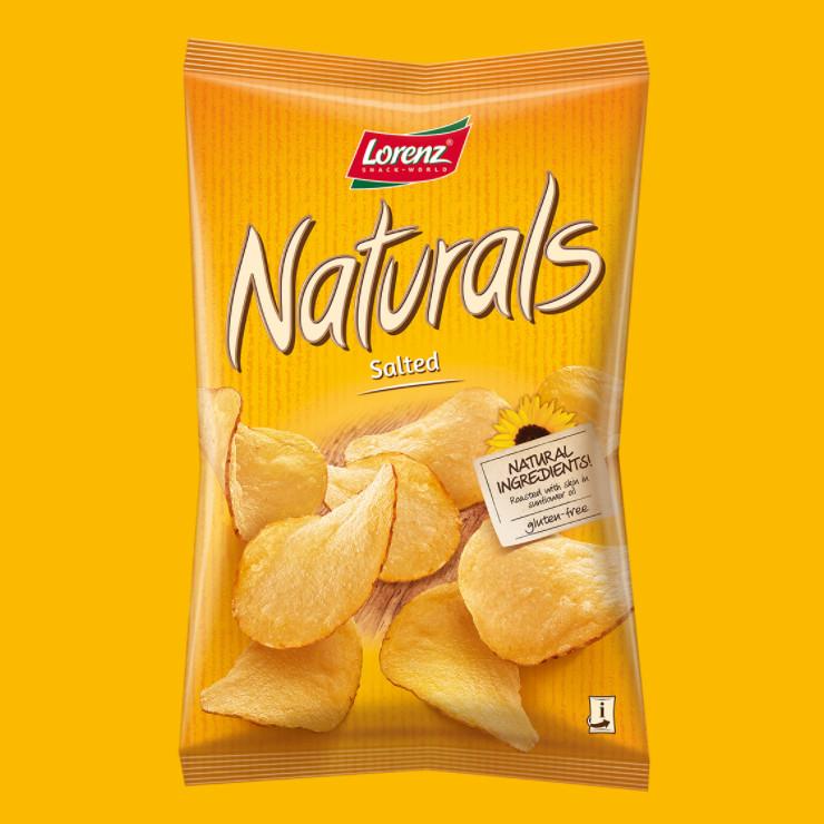 多倫斯Lorenz無棕櫚油純素洋芋片