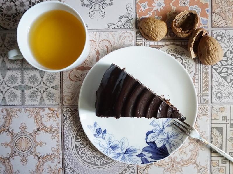 宜蘭PP99純素vegan無棕櫚油巧克力蛋糕