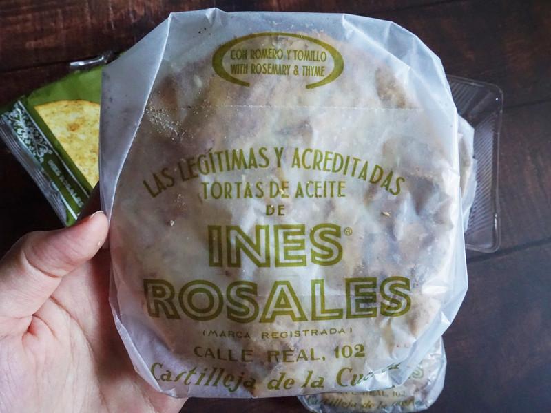 無棕櫚油vegan純素_西班牙INÉS ROSALES手工橄欖油薄餅
