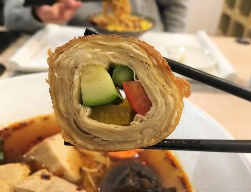 宜蘭|羅東如綸蔬食坊,環境清新明淨的素食餐廳